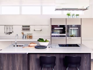 ALNO kitchen - as seen on Building The Dream The ALNO Store Bristol Modern kitchen