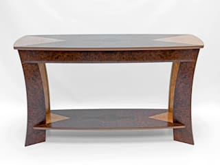 Crossbow Console Table: modern  by Robin Furlong furniture, Modern