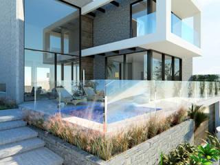 Manuela Di Giorgio | Arquitetura e Interiores Rumah Modern Beton Grey