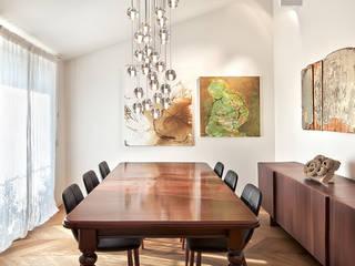 appartamento B Sala da pranzo eclettica di Diana Lapin Eclettico