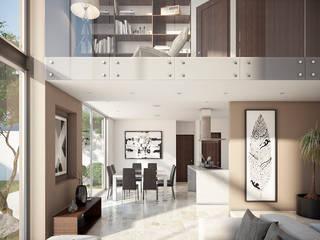 Modern Living Room by DELTA Modern