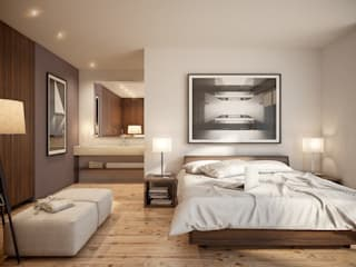 GAMMA II Dormitorios modernos de DELTA Moderno