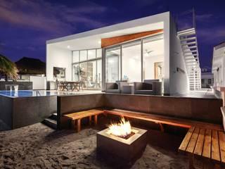 Terraços  por Imativa Arquitectos , Moderno Madeira Efeito de madeira