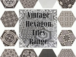 Bathroom Hexagon Range:   by Tilezone