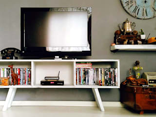 Pons Home Design Living roomTV stands & cabinets Wood White