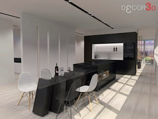 Modern Kitchen by Nuria Decor3D Modern