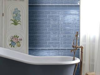 CERAMICHE BRENNERO SPA Modern style bathrooms Ceramic Blue