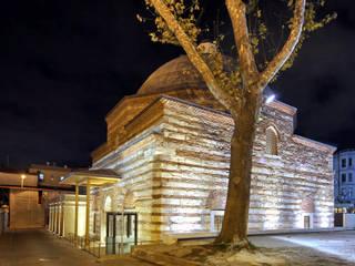 Cafer Bozkurt Architecture – Kılıçali Paşa Hamamı:  tarz Etkinlik merkezleri