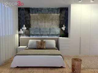 Mediterranean style bedroom by Nuria Decor3D Mediterranean