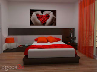Modern Bedroom by Nuria Decor3D Modern