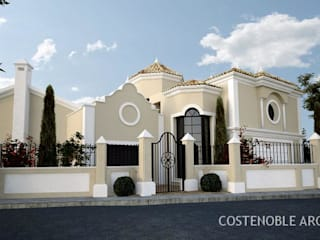 OPUS V13-17 Casas de estilo moderno de MANSION DESIGN Moderno