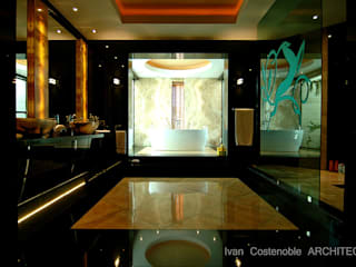OPUS V13-22 Baños de estilo moderno de MANSION DESIGN Moderno