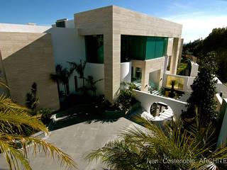 OPUS V13-22 Casas de estilo moderno de MANSION DESIGN Moderno