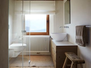 homify Rustic style bathrooms