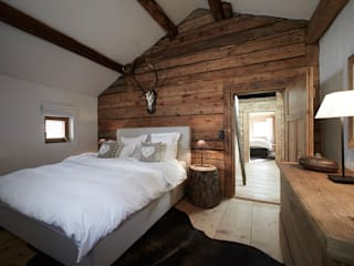 Rustic style bedroom by homify Rustic