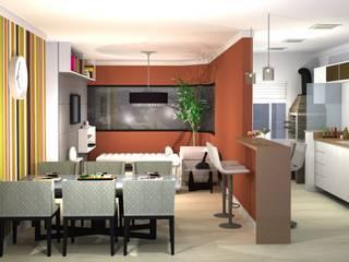Modern living room by 151 office Arquitetura LTDA Modern