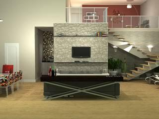Living room by 151 office Arquitetura LTDA, Modern
