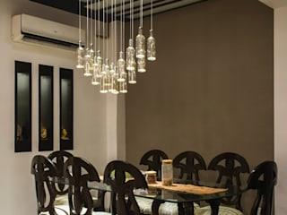 Dining room by Studio Ezube,