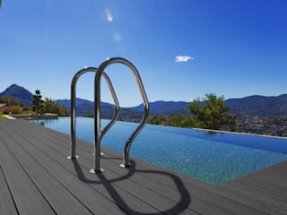 Nouvelle Lame de Terrasse Tropical 2016 Balcon, Veranda & Terrasse originaux par TimberTech Éclectique