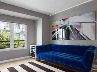 Apartamento Lisboa Salas de estar minimalistas por Ana Maria Timóteo _ arquitecta Minimalista