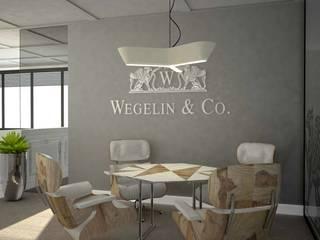 Sala VIP do indywidualnych spotkań: styl , w kategorii Przestrzenie biurowe i magazynowe zaprojektowany przez MART-DESIGN