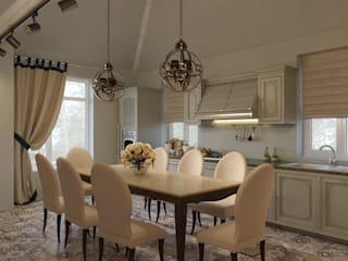 Be In Art Eclectic style kitchen Engineered Wood Beige