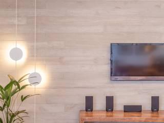 Salas de estilo moderno por Nautilo Arquitetura & Gerenciamento