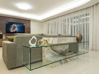 Apartamento Florianopolis Salas de estar modernas por Locus Arquitetura Moderno