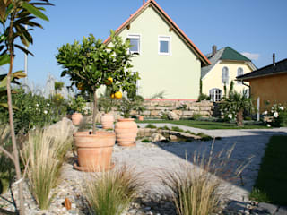 Casas de estilo mediterráneo de Massive Wohnbau GmbH und Co. KG Mediterráneo