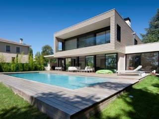 Villa Wainer Nowoczesne domy od Kawneer España Nowoczesny