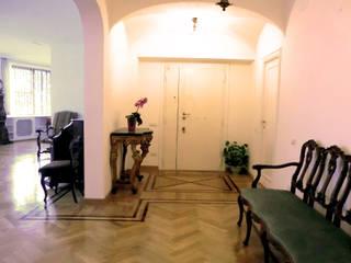 ROMA - Farnesina Modern Corridor, Hallway and Staircase by Studio2Archi Modern