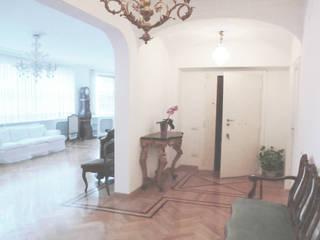 ROMA - Farnesina Studio2Archi Couloir, entrée, escaliers modernes