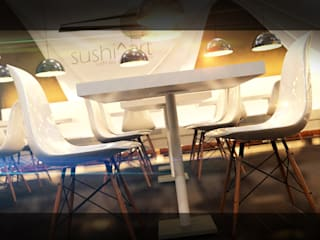 Modern dining room by Antony Simões Studio Modern