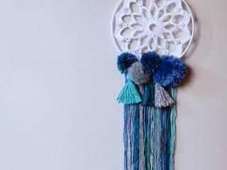 Attrape rêve - Pompon Princesse / Bleu:  de style  par Cpourki