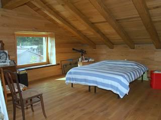 casa del conte - 2014 Camera da letto rurale di architetto Davide Fornero Rurale
