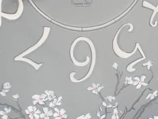 Horloge 'Printemps Nippon' par Petites Récoltes Éclectique