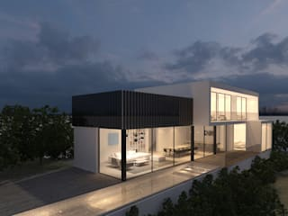 Modern Houses by DESIGN VILLAS MORAIRA SL Modern