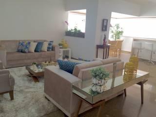 Beatrice Oliveira - Tricelle Home, Decor e Design Soggiorno moderno