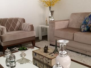 Beatrice Oliveira - Tricelle Home, Decor e Design Modern living room