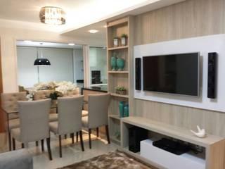 Beatrice Oliveira - Tricelle Home, Decor e Design Comedores de estilo moderno