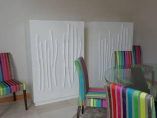 Moradia Particular - Corimba Salas de jantar ecléticas por Joana Neto | Interiores Eclético