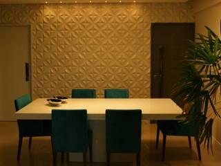 Salle à manger moderne par arquitetura assim Moderne