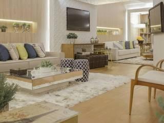 Beatrice Oliveira - Tricelle Home, Decor e Design Salones de estilo moderno