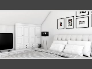 Scandinavian style bedroom by Zeler Design Scandinavian
