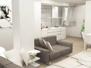 Salas de estar modernas por Architetto Jessica Vaghi Moderno