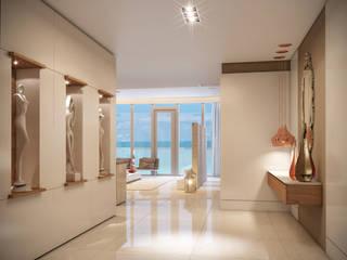 Corridor & hallway by Giovanna Castagna Arquitetura Interiores,