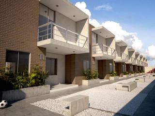 Residencias DON EMILIO / Residences DON EMILIO: Casas de estilo  por Kubos + Arquitectos