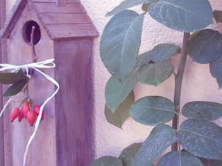 Dekorationsideen für Garten, Hof oder Terrasse im Shabby Chic & Vintage Stil von Shabby Chic & Co. - Isabell Kruse