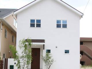 ジャストの家 Maisons minimalistes Blanc