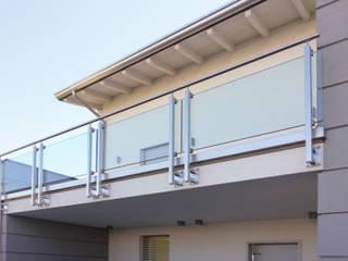 Modern style balcony, porch & terrace by Marlegno Modern